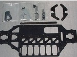ASSOCIATED TC3 CARBON FIBER OVAL CHASSIS KIT