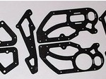 THUNDER TIGER 1/5 FM-1e MOTORCYCLE CARBON FIBER CHASSIS KIT