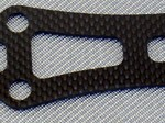 TEAM ASSOCIATED B44 CARBON FIBER FRONT TOP PLATE