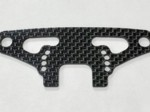 XRAY T4 2020 CARBON FIBER FRONT BUMPER HOLDER WITH BRACE 2mm