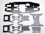 LOSI LST XXL CARBON FIBER KIT (10 PIECES)