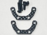 XRAY T4 2020 CARBON FIBER MOTOR SPACERS 2pc