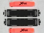 TRAXXAS X-MAXX V2 CARBON FIBER BATTERY TRAYS 2.5MM (2)