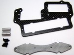 KYOSHO MP9 CARBON FIBER BATTERY FORWARD SERVO TRAY