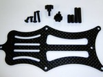 TEAM LOSI 22 CARBON FIBER BATTER STRAP