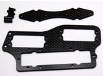 TEAM ASSOCIATED RC8 CARBON FIBER BATTERY FORWARD SERVO TRAY