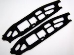 HPI 5SC FLUX BLACK G-10 CHASSIS PLATES (5mm)