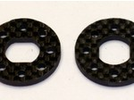 "JQ ""THE CAR"" CARBON FIBER BRAKE DISK (2) 3mm"