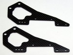 DURATRAX DX450 M5 MOTORCYCLE CARBON FIBER REAR FRAME (2)