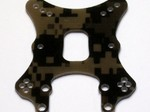 ELECTRIX RC CIRCUIT - RUCKUS DIGITAL CAMO G10 FRONT SHOCK TOWER