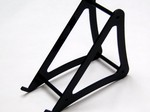 XTREME LARGE BLACK ACRYLIC CHARGER STAND