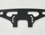 XRAY T4 2020 CARBON FIBER FRONT BUMPER HOLDER WITH BRACE 2mm (10495)