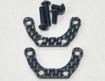 XRAY T4 2020 CARBON FIBER MOTOR SPACERS 2pc (10497)