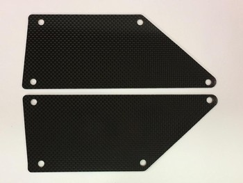 LOSI ROCK REY CARBON FIBER SIDE PANELS (2) (10348)